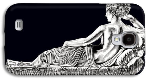 European Sculptures Galaxy S4 Cases - Venus Victorious _ V3 Galaxy S4 Case by Bruce Algra