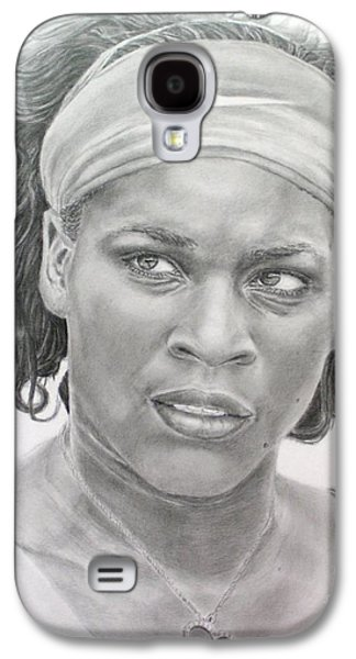 Venus Williams Galaxy S4 Case by Blackwater Studio