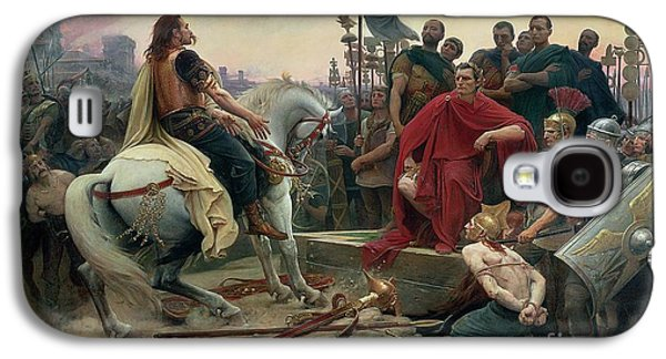 Vercingetorix Throws Down His Arms At The Feet Of Julius Caesar Galaxy S4 Case by Lionel Noel Royer