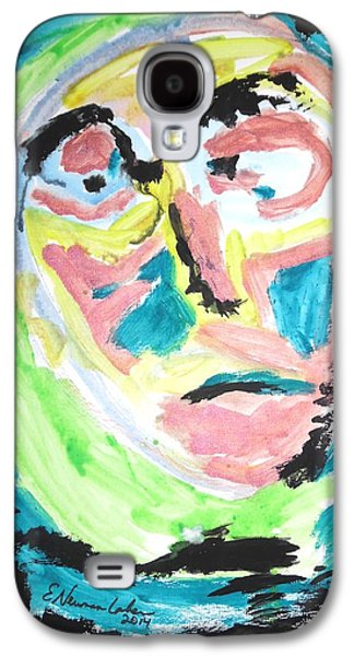 Psychiatry Paintings Galaxy S4 Cases - Verging on morbidity Galaxy S4 Case by Esther Newman-Cohen