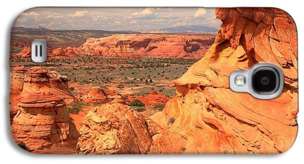 Surreal Landscape Galaxy S4 Cases - Vermilion Cliffs Desert Landscape Galaxy S4 Case by Adam Jewell