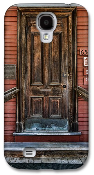 Business Galaxy S4 Cases - Vermont Country Store Door Galaxy S4 Case by Stephen Stookey