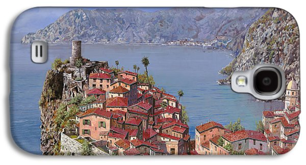 Vernazza-cinque Terre Galaxy S4 Case by Guido Borelli