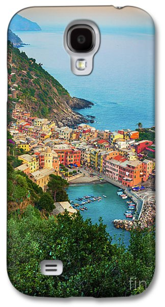 Vernazza From Above Galaxy S4 Case by Inge Johnsson