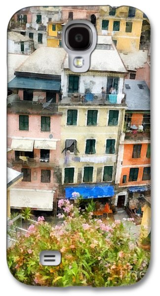 Vernazza Italy In The Cinque Terra Galaxy S4 Case by Edward Fielding