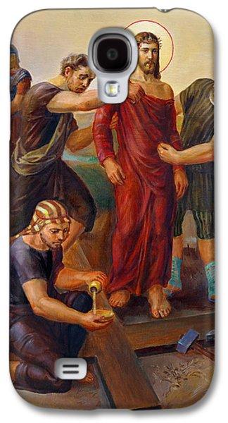 Via Dolorosa - Disrobing Of Christ - 10 Galaxy S4 Case by Svitozar Nenyuk