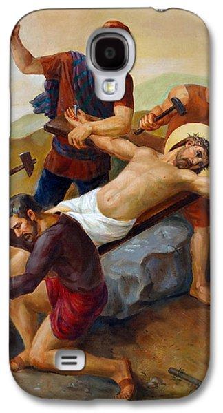 Via Dolorosa - Jesus Is Nailed To The Cross - 11 Galaxy S4 Case by Svitozar Nenyuk