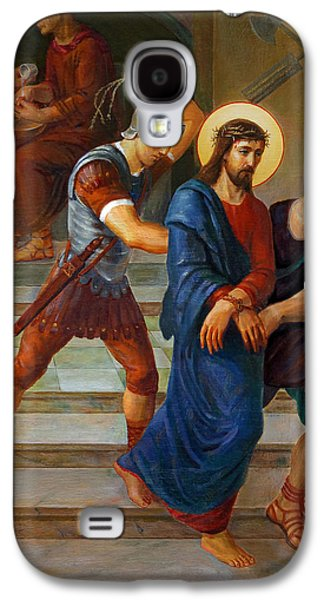 Via Dolorosa - Stations Of The Cross - 1 Galaxy S4 Case by Svitozar Nenyuk