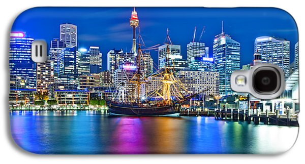 Vibrant Darling Harbour Galaxy S4 Case by Az Jackson