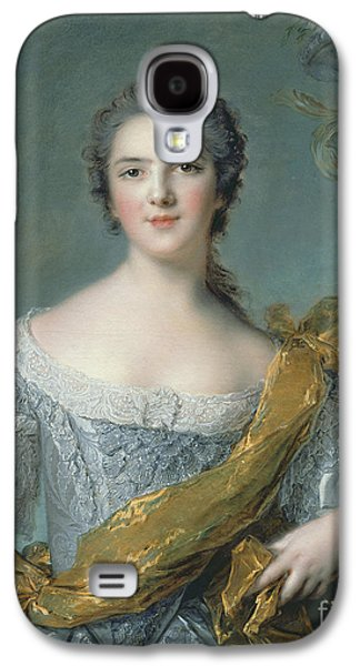 1733-99 Paintings Galaxy S4 Cases - Victoire de France at Fontevrault Galaxy S4 Case by Jean Marc Nattier