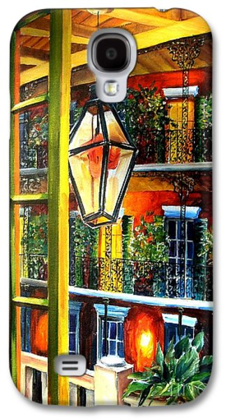 View From A French Quarter Balcony Galaxy S4 Case by Diane Millsap