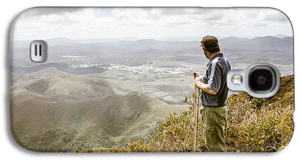 View From Mt Zeehan Tasmania Galaxy S4 Case by Jorgo Photography - Wall Art Gallery