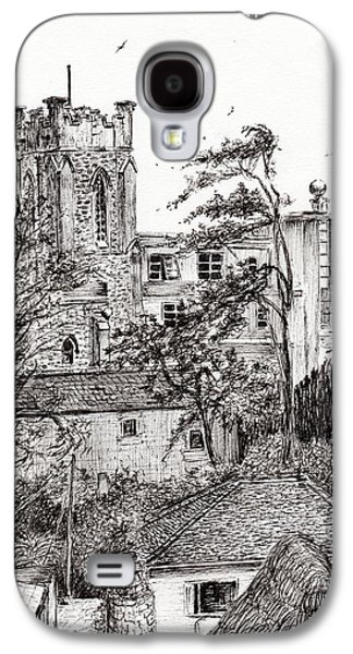 View From St Catherines School Ventnor Galaxy S4 Case by Vincent Alexander Booth