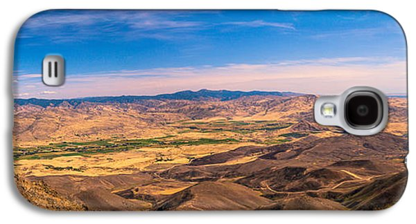 Haybale Galaxy S4 Cases - View From The Top Galaxy S4 Case by Robert Bales