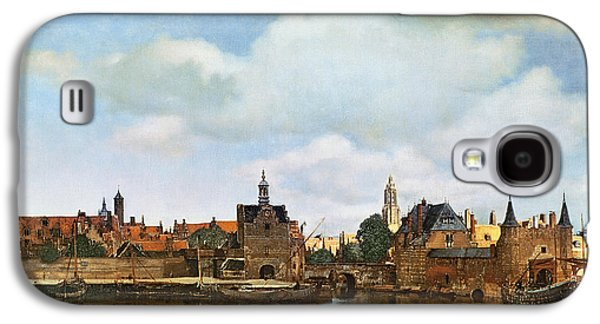 View Of Delft Galaxy S4 Case by Jan Vermeer