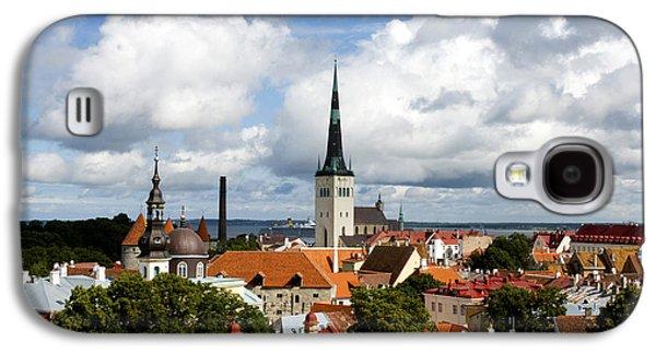 Tallinn Galaxy S4 Cases - View of St Olavs Church Galaxy S4 Case by Fabrizio Troiani