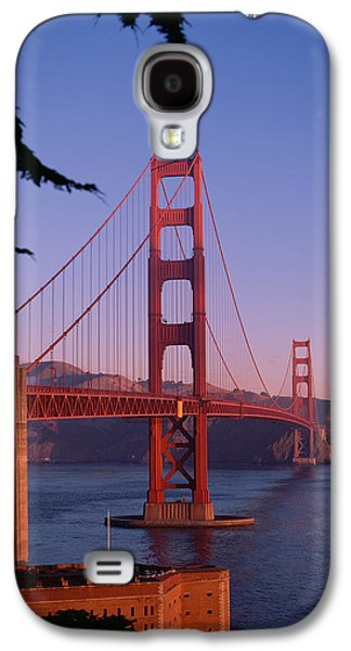View Of The Golden Gate Bridge Galaxy S4 Case by American School