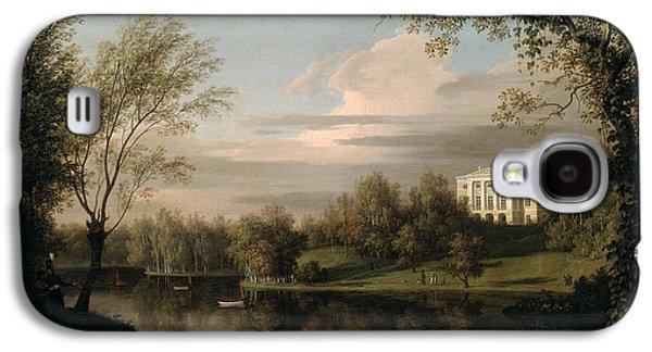 View Of The Pavlovsk Palace Galaxy S4 Case by Carl Ferdinand von Kugelgen