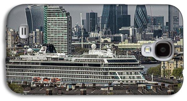 Viking Sea Cruise Ship Galaxy S4 Case by Martin Newman