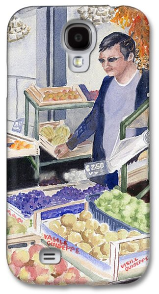 Village Grocer Galaxy S4 Case by Marsha Elliott