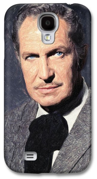 The Haunted House Galaxy S4 Cases - Vincent Price Galaxy S4 Case by Taylan Soyturk