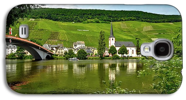 Vineyard Along The Moselle River Galaxy S4 Case by Mrs Brown