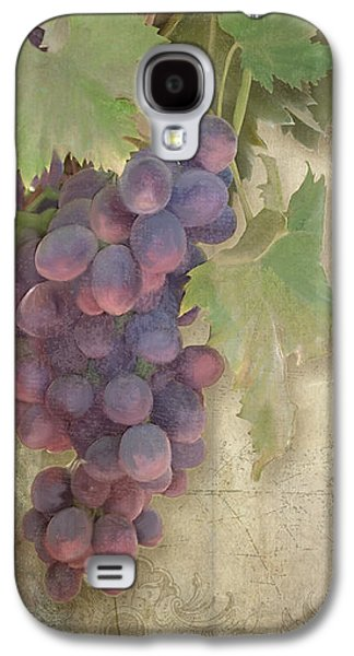 Vineyard Series - Chateau Pinot Noir Vineyards Sign Galaxy S4 Case by Audrey Jeanne Roberts