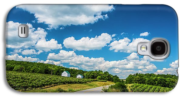 Vineyards In Summer Galaxy S4 Case by Steven Ainsworth