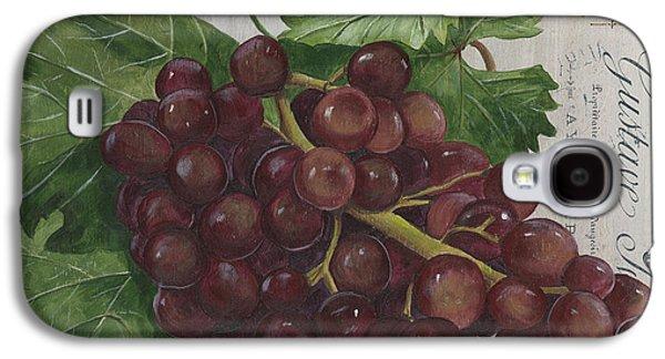 Vines Galaxy S4 Cases - Vins de Champagne Galaxy S4 Case by Debbie DeWitt