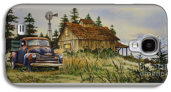 Vintage Country Landscape Galaxy S4 Case by James Williamson