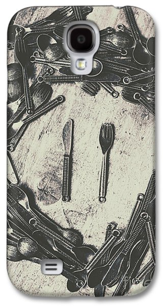 Vintage Food Service Galaxy S4 Case by Jorgo Photography - Wall Art Gallery