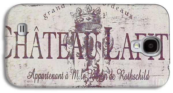 French Signs Galaxy S4 Cases - Vintage French Wine Sign Galaxy S4 Case by Mindy Sommers