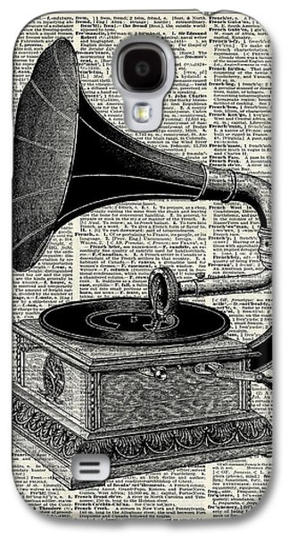 Vintage Gramophone Galaxy S4 Case by Jacob Kuch