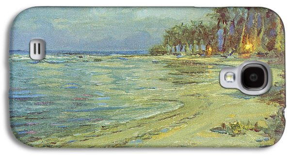Printscapes - Galaxy S4 Cases - Vintage Hawaiian Art Galaxy S4 Case by Hawaiian Legacy Archive - Printscapes