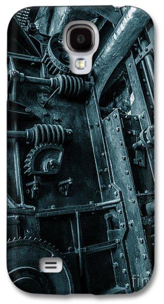 Vintage Industrial Pipes Galaxy S4 Case by Carlos Caetano