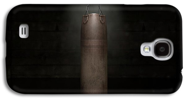 Vintage Leather Punching Bag Galaxy S4 Case by Allan Swart