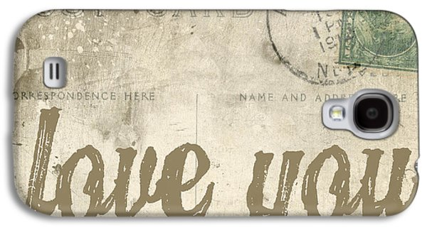 Love Galaxy S4 Cases - Vintage Love Letters Galaxy S4 Case by Edward Fielding