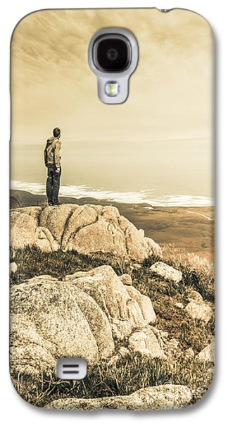Vintage Mountain Dreamer Galaxy S4 Case by Jorgo Photography - Wall Art Gallery