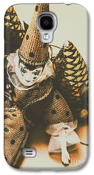 Vintage Party Puppet Galaxy S4 Case by Jorgo Photography - Wall Art Gallery