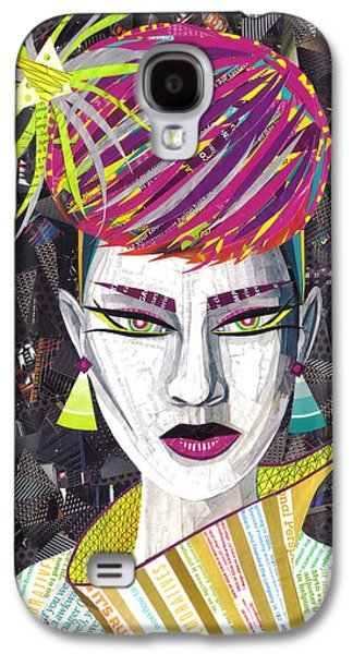 Vintage Punk  Galaxy S4 Case by Shawna Rowe