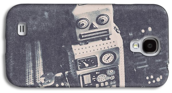 Vintage Robot Toy Galaxy S4 Case by Jorgo Photography - Wall Art Gallery
