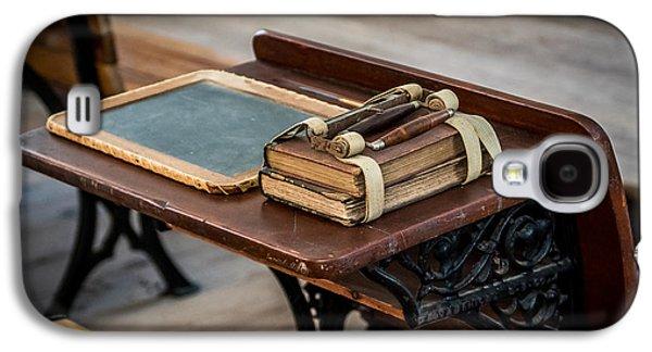 Vintage School Desk Galaxy S4 Case by Paul Freidlund