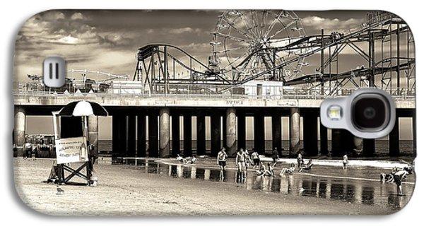 Vintage Steel Pier Galaxy S4 Case by John Rizzuto