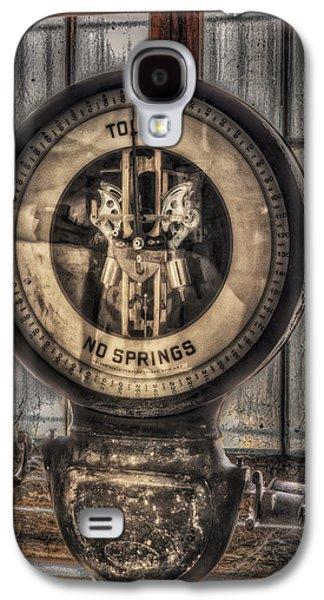 Mechanism Galaxy S4 Cases - Vintage Toledo No Springs Scale Galaxy S4 Case by Susan Candelario