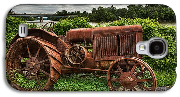 Old Feed Mills Galaxy S4 Cases - Vintage Tractor Galaxy S4 Case by Robert FERD Frank