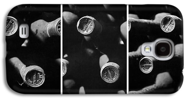 Vintage Wine Triptych Panel Galaxy S4 Case by Georgia Fowler
