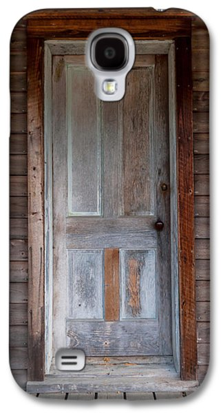 Vintage Wood Door  Galaxy S4 Case by Terry DeLuco