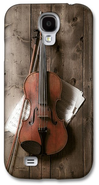Violin Galaxy S4 Case by Garry Gay