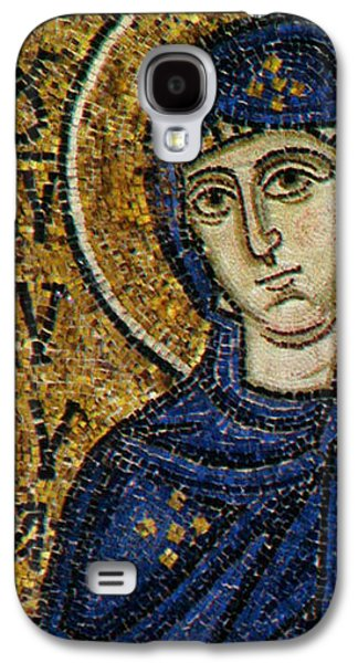 Figures Reliefs Galaxy S4 Cases - Virgin Mary Galaxy S4 Case by Byzantine School