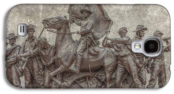 Virginia Monument Gettysburg Battlefield Galaxy S4 Case by Randy Steele